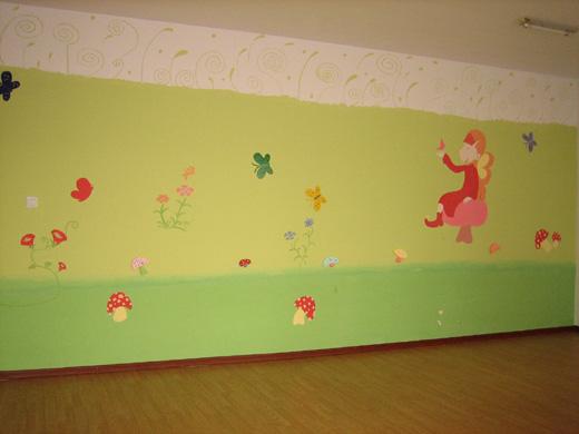 幼儿园环境装饰特点