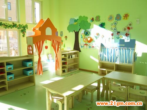 幼儿园环境布置一角