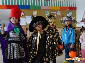 四川攀枝花伟才幼儿园2013万圣节活动