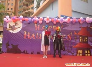 广东惠阳彩虹城伟才幼儿园2013年万圣节活动