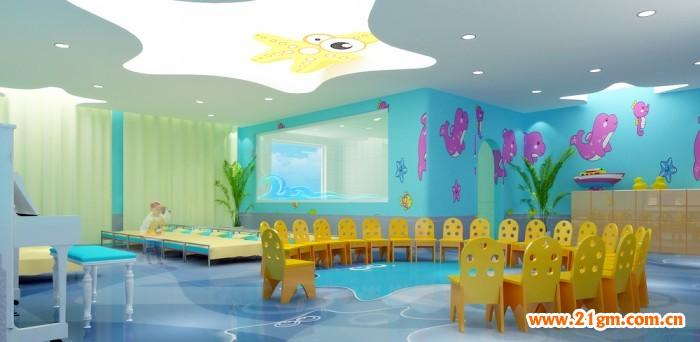 长春伟才(国际)幼儿园——海洋世界教室