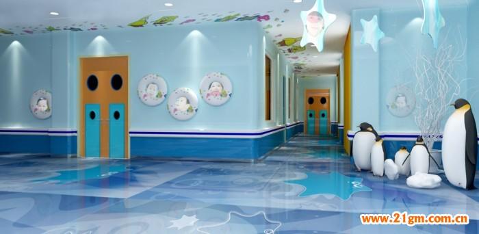 长春伟才(国际)幼儿园——海洋世界走廊