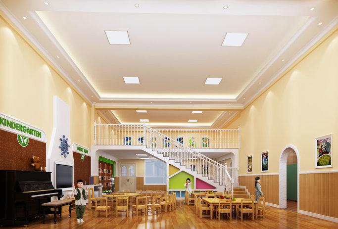 古田凤凰城(国际)伟才幼儿园——活动室效果图