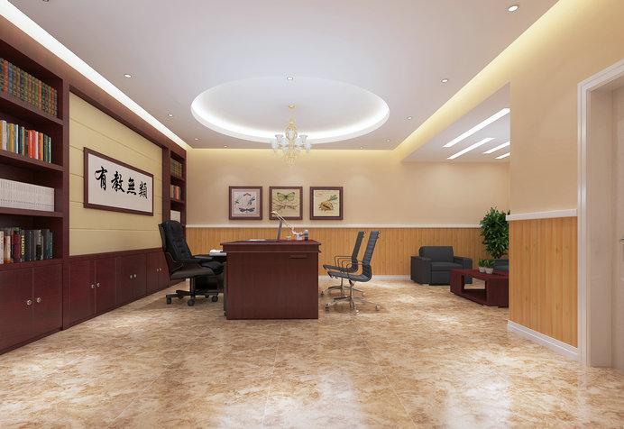 大渡口伟才幼儿园——办公室设计效果图