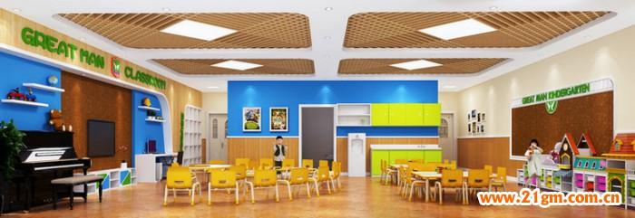 东湖新城伟才幼儿园-——活动室设计效果图