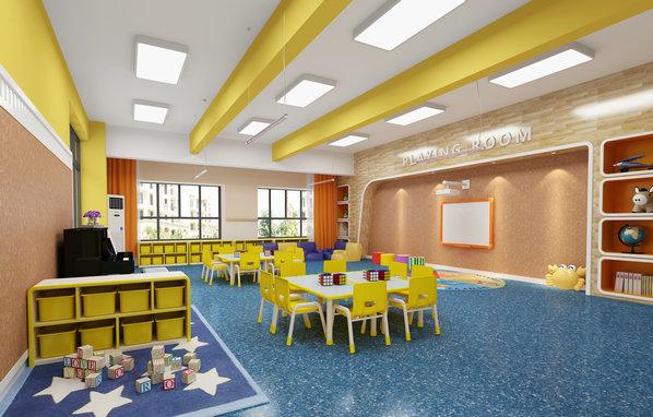 御景豪园幼儿园——活动室