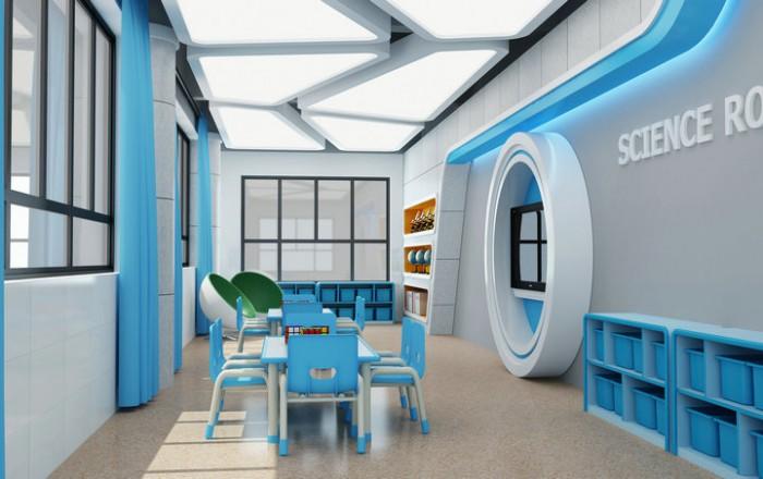 御景豪园幼儿园——科学室