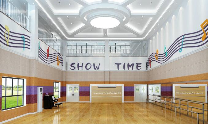 御景豪园幼儿园——音体室