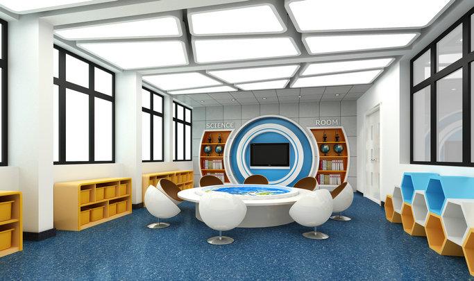 裕龙幼儿园——科学室效果图