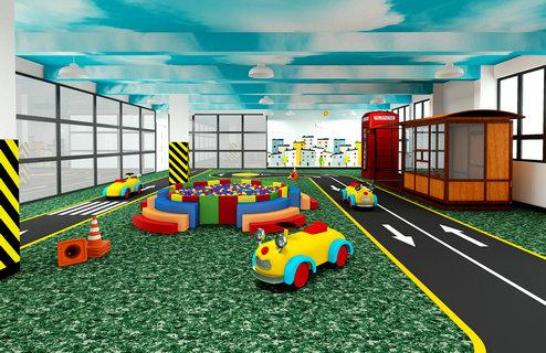 裕龙幼儿园——模拟小镇