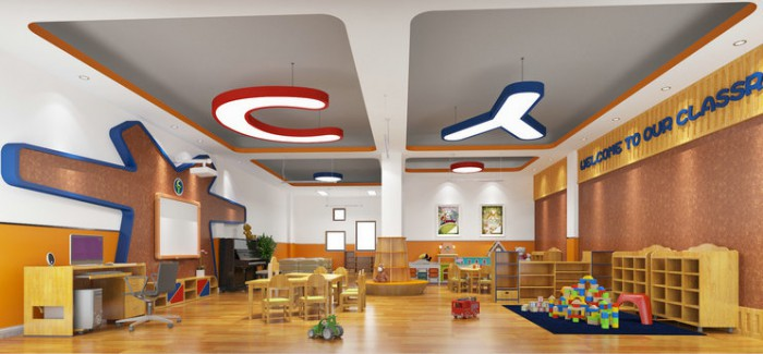 春洋幼儿园——活动室