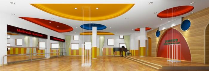 春洋幼儿园——音体室