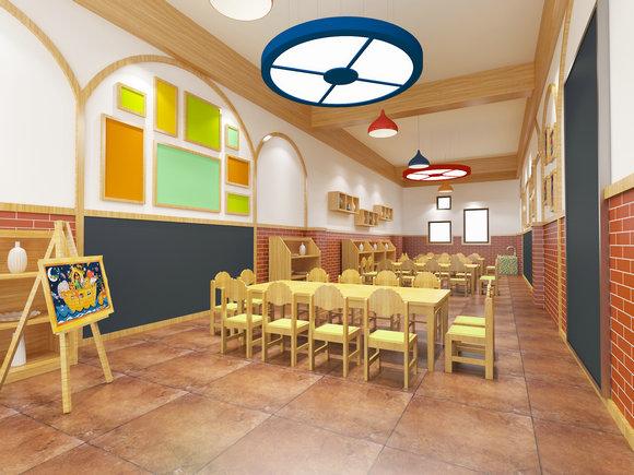 春洋幼儿园——美工室