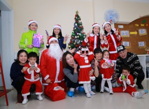圣诞老公公的铃铛不见了?到南宁伟才幼儿园寻找吧!