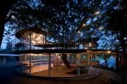 国外儿童乐园设计案例欣赏——日本树屋幼儿园