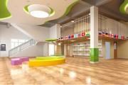 幼儿园装修中防滑地板怎么安装?