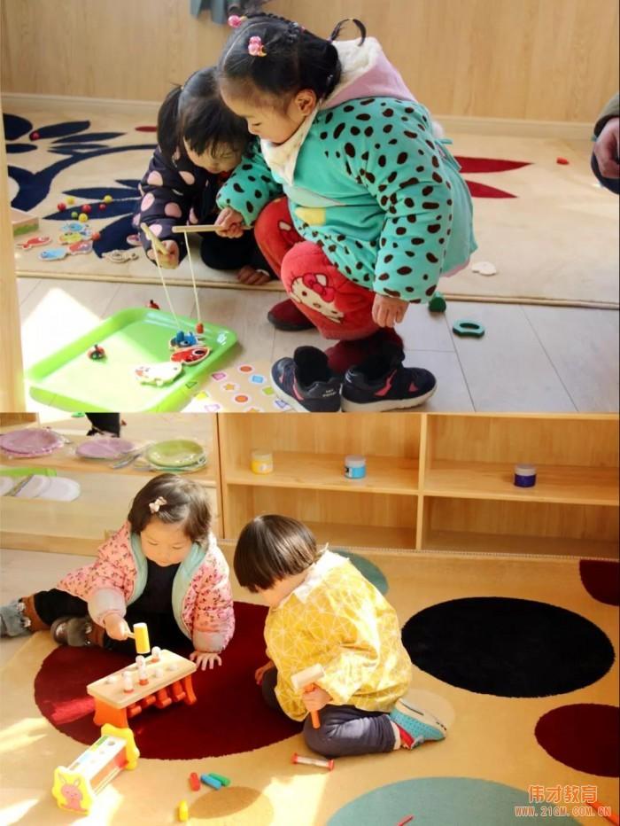 为开园预热!江西景德镇昌南湖伟才幼儿园迎新年游园活动