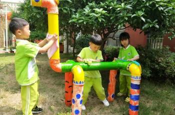 湖北仙桃和合伟才幼儿园:我劳动,我快乐
