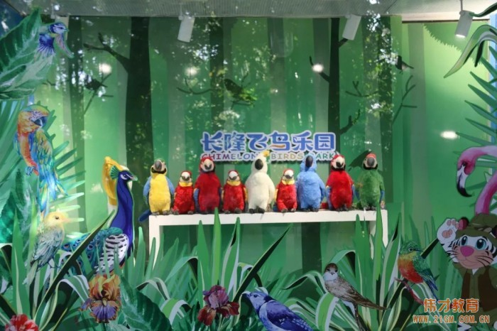小鸟,你好! 广东中山东升伟才幼儿园亲子研学之旅