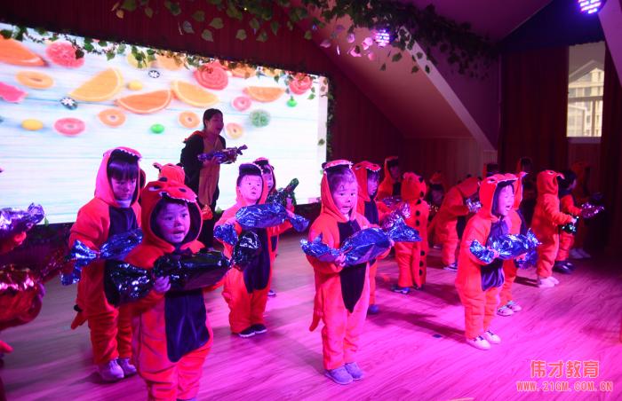 湖北荆州楚天都市佳园伟才幼儿园:动物音乐剧,任性跨年