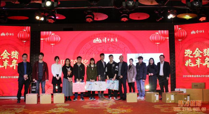 迎金猪,兆丰年——伟才教育2019迎春晚宴