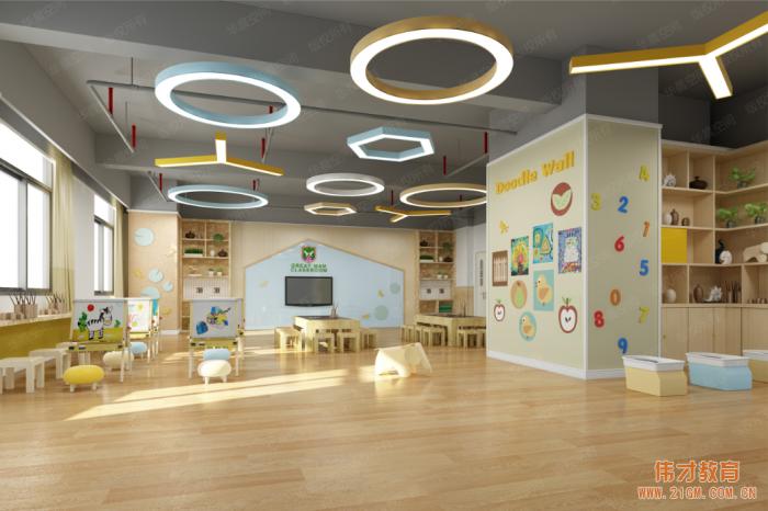 高品质幼儿园落户广西贵港凯旋国际,今年9月正式开园