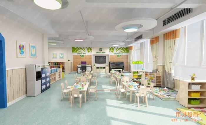 教育强省湖北再迎高端幼儿园加盟品牌,伟才幼儿园走进孝感大悟