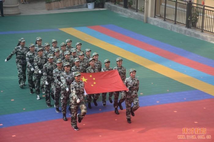 """潼南伟才幼儿园庆祝建国70周年 """"我是小小兵""""亲子运动会"""