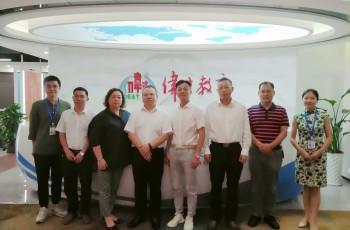 交流互动,广州工业投资控股集团到访伟才教育