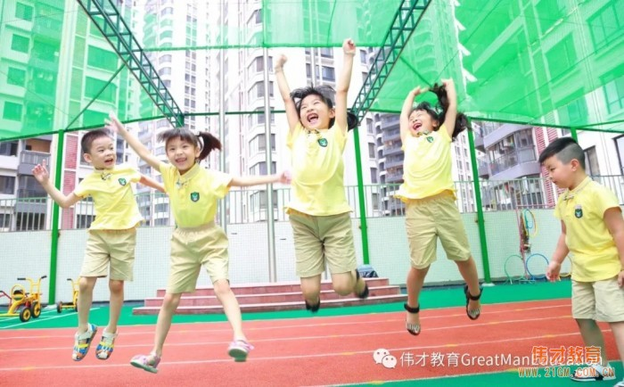 为园所提档升级,伟才幼儿园走进广东惠州沙田!