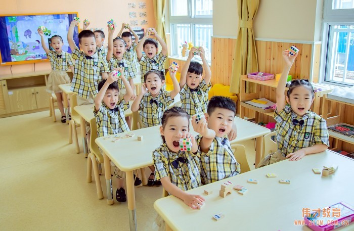 河南驻马店再迎伟才幼儿园,至爱呵护童心