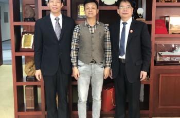 德中总会中国事务委员会执行会长温舟等一行来伟才教育参访洽谈