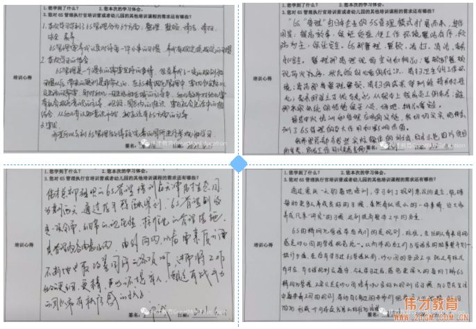 """高效管理,优雅幼教——伟才""""幼儿园6S管理执行官训练营""""(天津站)报道"""