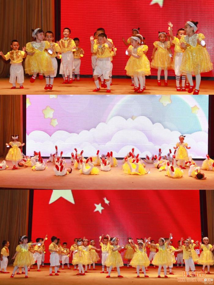 山东东营科达伟才幼儿园庆建党100周年大型文艺汇演
