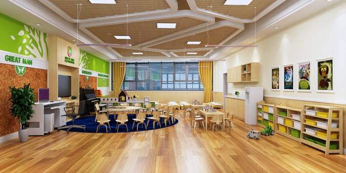 幼兒園裝修設計 高端