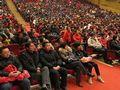 由伟才公司总部园长主讲的《聆听孩子的心声》专题讲座迎来了泰兴市近千位家长的积极参与