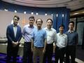201403安徽省江南产业集中区政府官员来访伟才公司