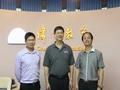 201405广东省连锁经营协会会长孙雄以及秘书长樊飞飞两位领导,亲临伟才教育集团广州总部参观并指导工作。