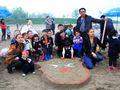 仙桃伟才国际幼儿园首届亲子沙雕艺术节